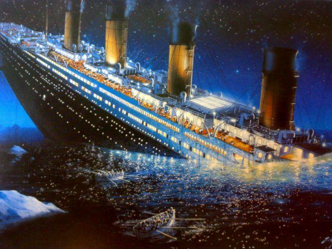 TITANIC disaster drama romance ship boat rw wallpaper