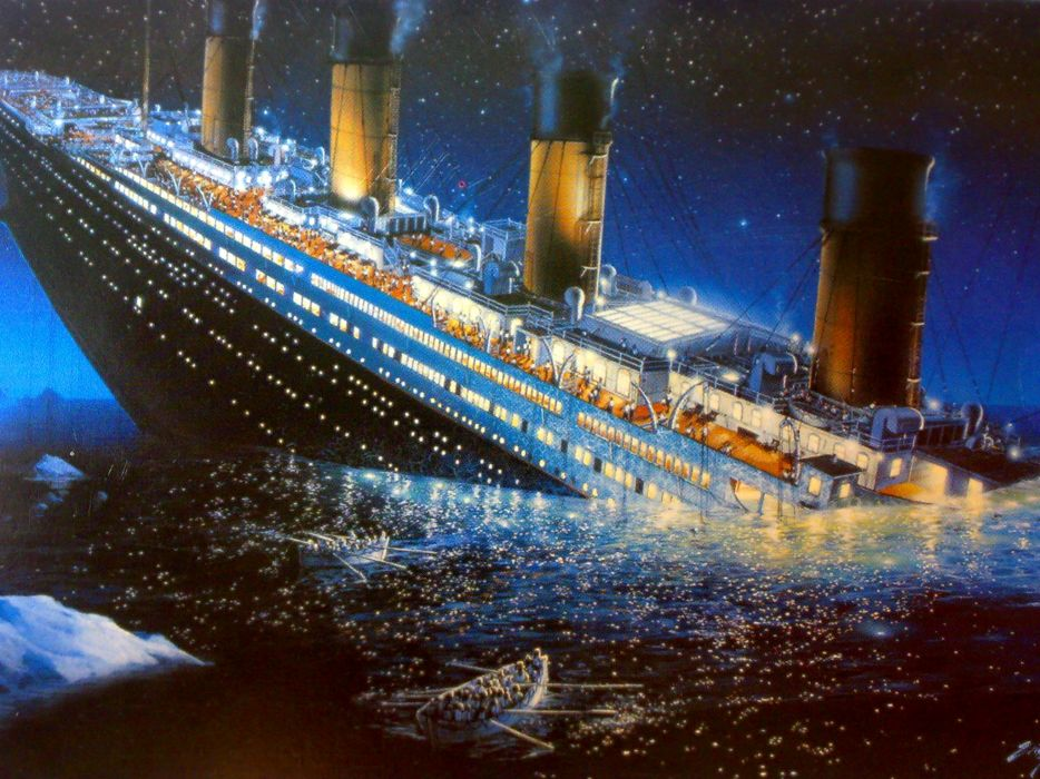 TITANIC disaster drama romance ship boat  rw wallpaper