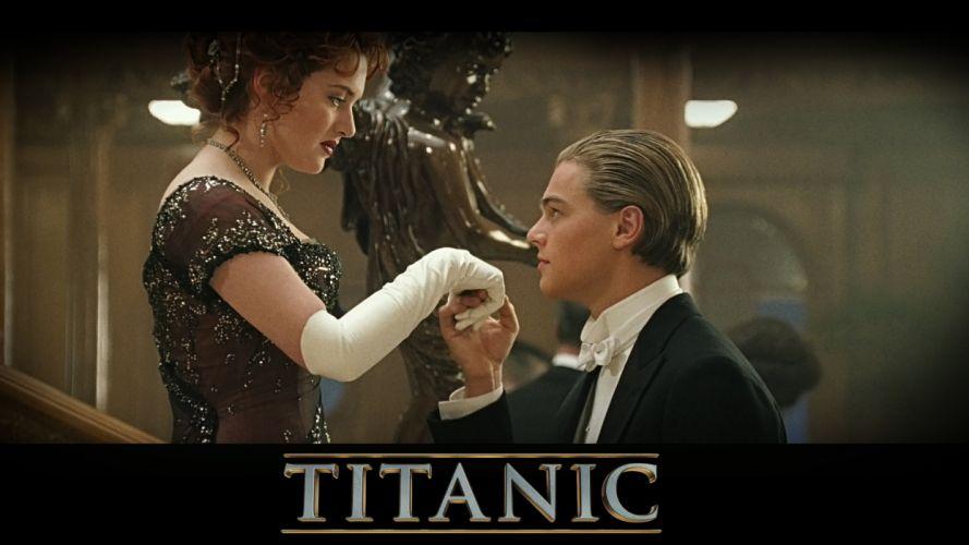 TITANIC disaster drama romance ship boat poster gf wallpaper