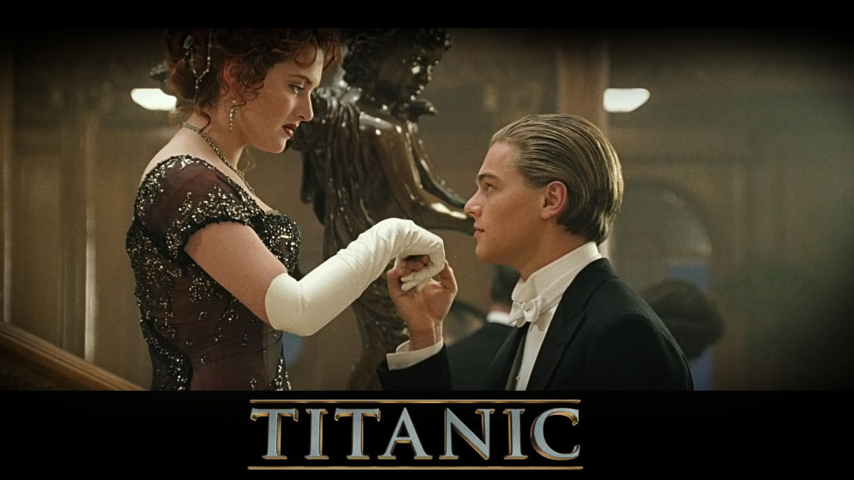 TITANIC disaster drama romance ship boat poster     gf wallpaper