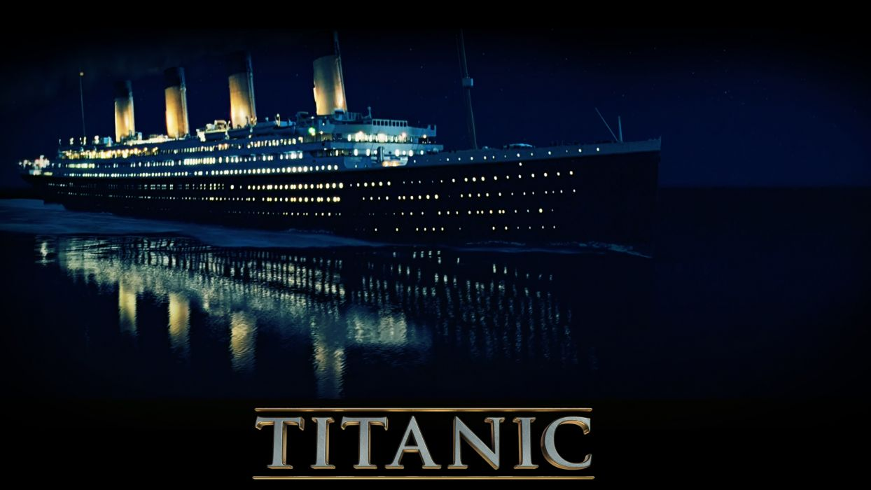 TITANIC disaster drama romance ship boat poster    gs wallpaper