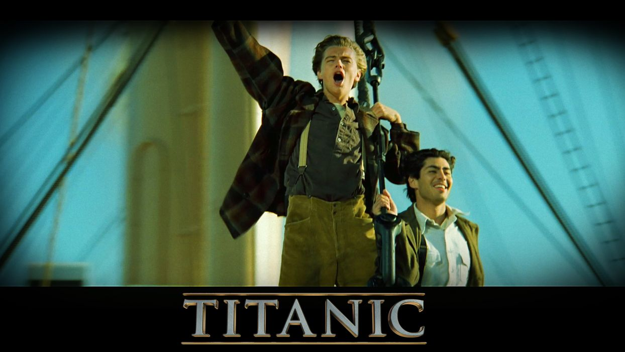 TITANIC disaster drama romance ship boat poster    r wallpaper