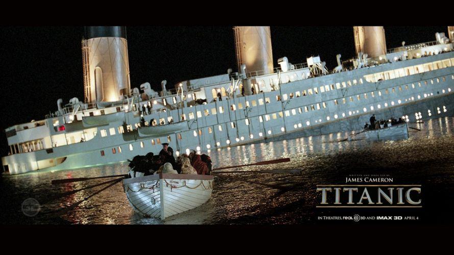TITANIC disaster drama romance ship boat r wallpaper