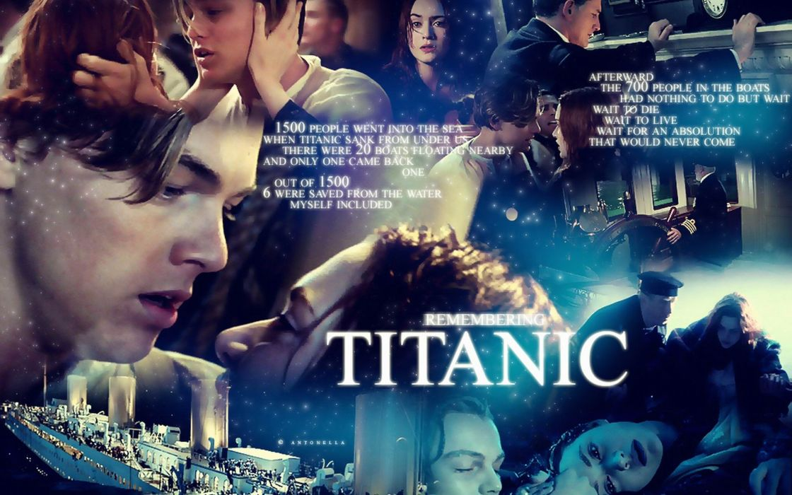TITANIC disaster drama romance ship boat poster d wallpaper