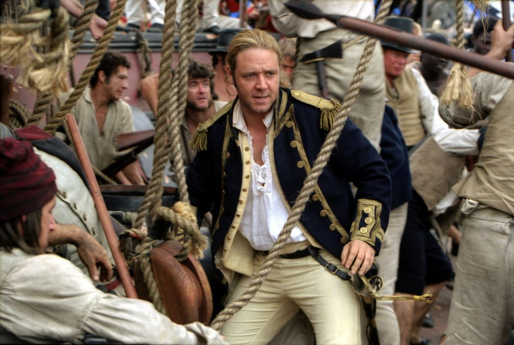 MASTER AND COMMANDER Action Adventure Drama War ship boat   h wallpaper
