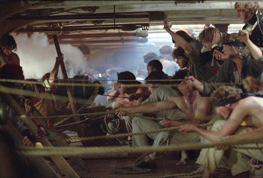 MASTER AND COMMANDER Action Adventure Drama War ship boat battle     h wallpaper