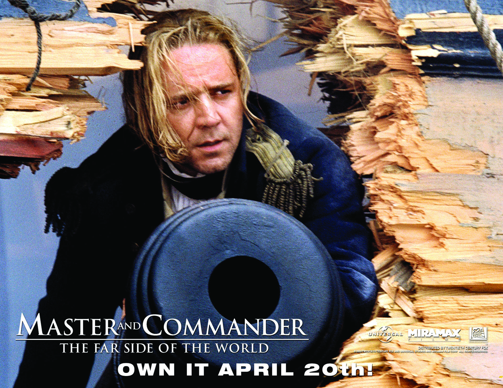 Image result for Master and Commander release posters