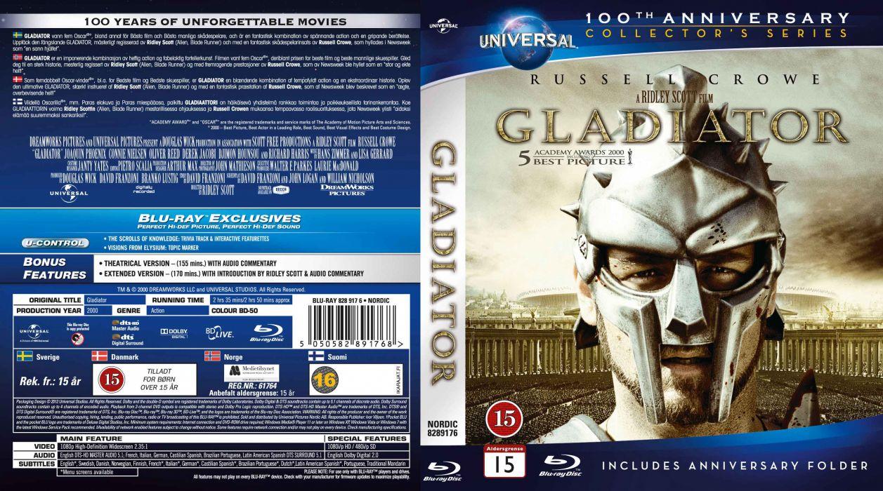 GLADIATOR Action Adventure Drama History poster    f wallpaper