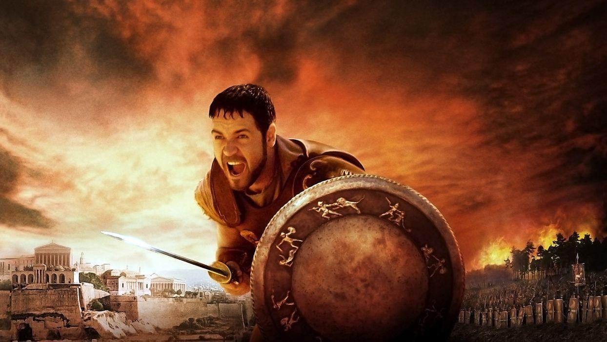 GLADIATOR Action Adventure Drama History warrior     g wallpaper