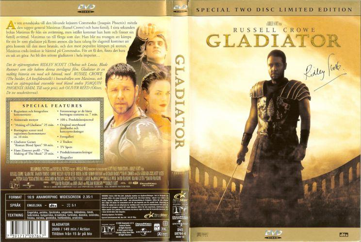 GLADIATOR Action Adventure Drama History poster g wallpaper