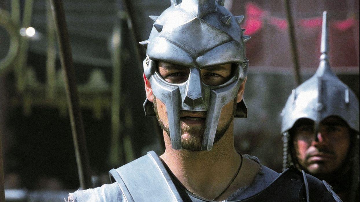 GLADIATOR Action Adventure Drama History warrior armor mask     g wallpaper