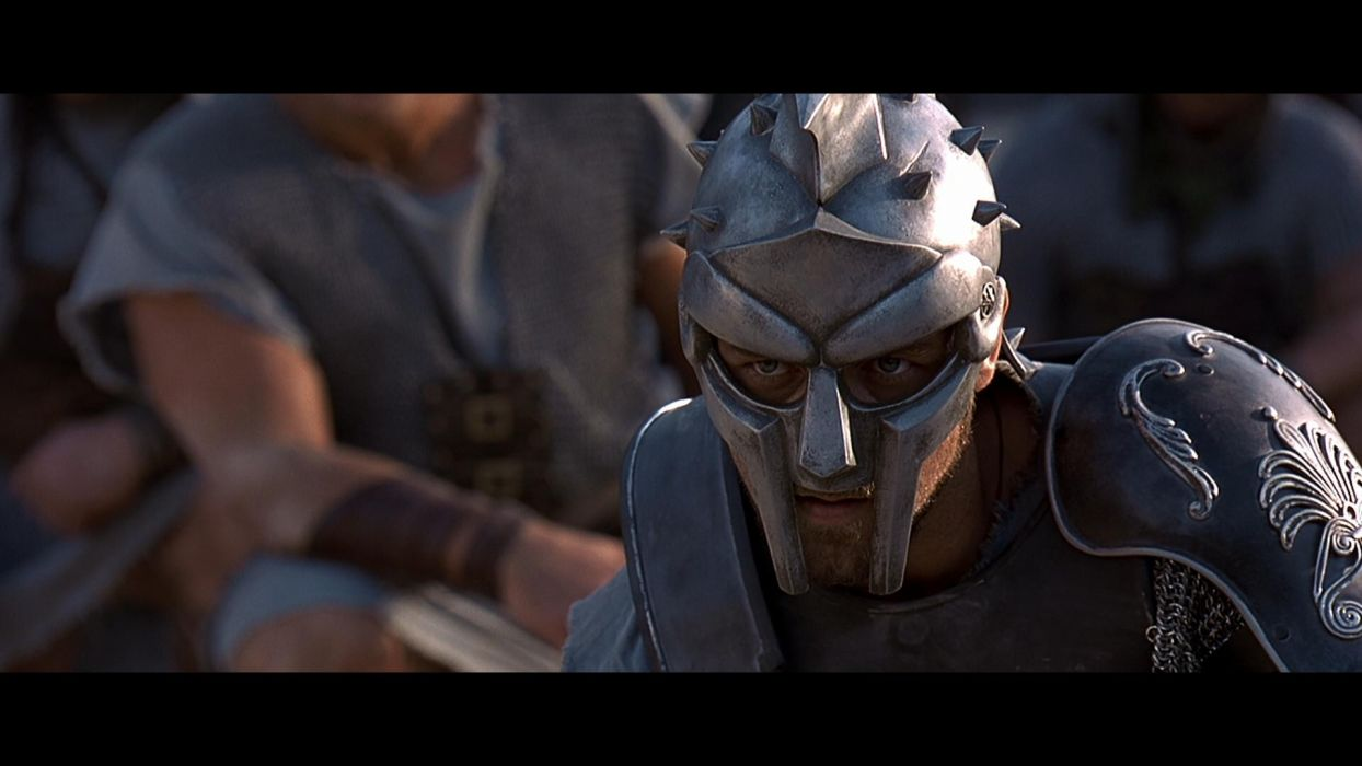 GLADIATOR Action Adventure Drama History warrior armor mask    g wallpaper