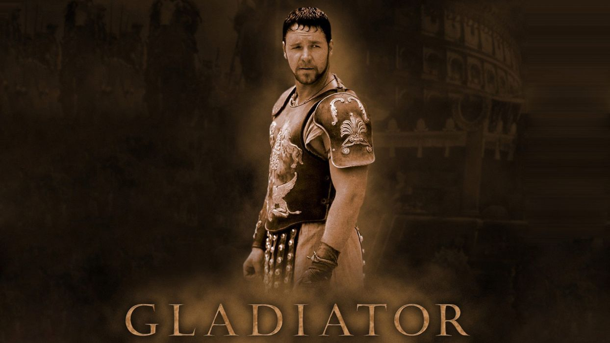 GLADIATOR Action Adventure Drama History warrior armor poster     g wallpaper