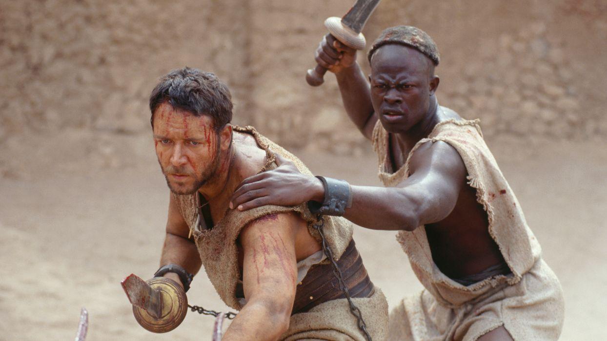 GLADIATOR Action Adventure Drama History warrior battle blood      h wallpaper