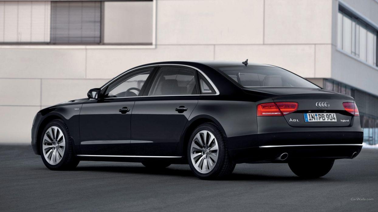 Hybrid Audi A8 Audi A8 Hybrid wallpaper
