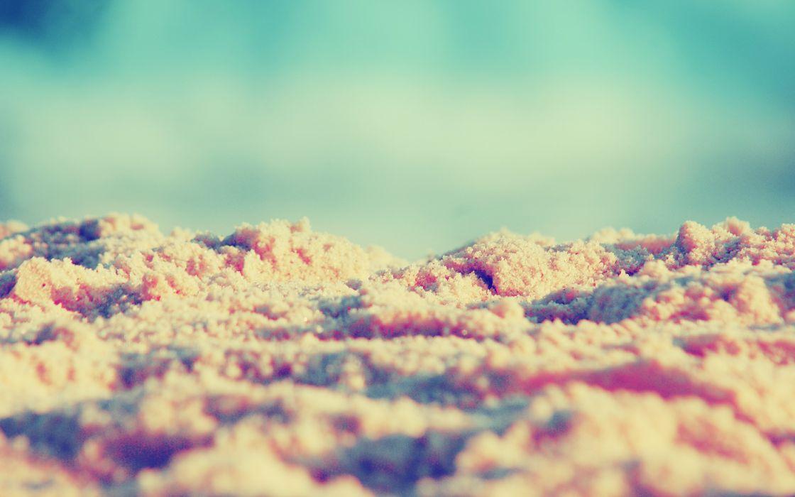 sand macro blurred wallpaper