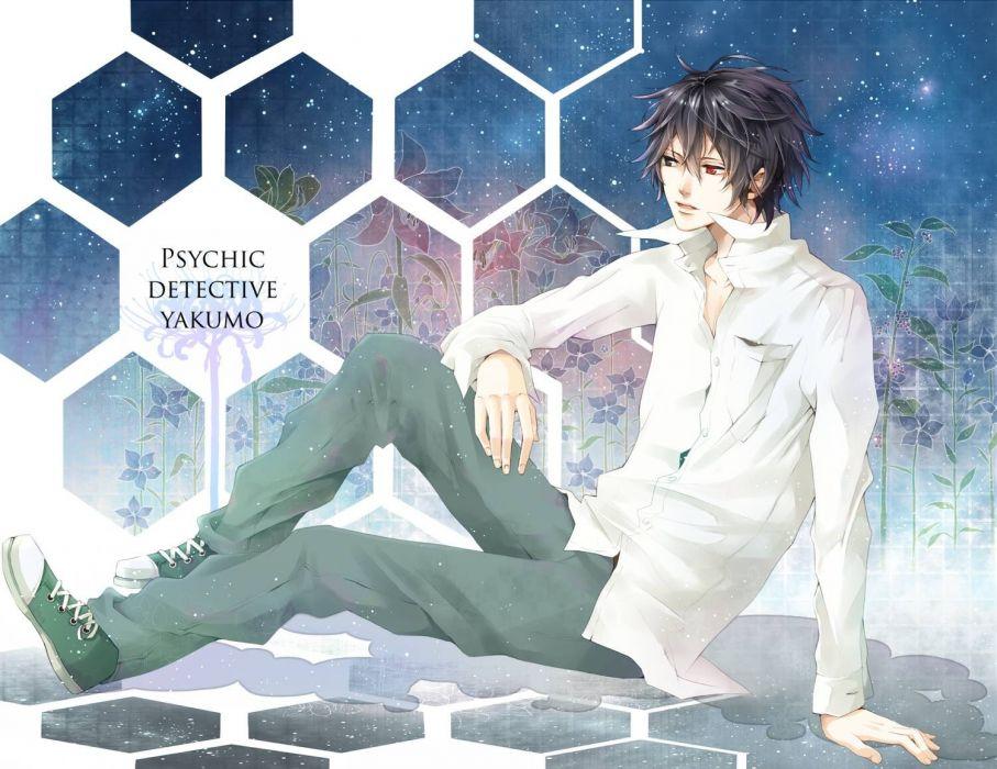 men anime boys manga Psychic Detective Yakumo Saitou Yakumo wallpaper