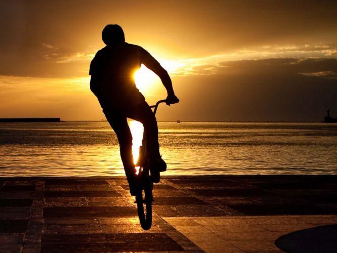 sunset sports wallpaper