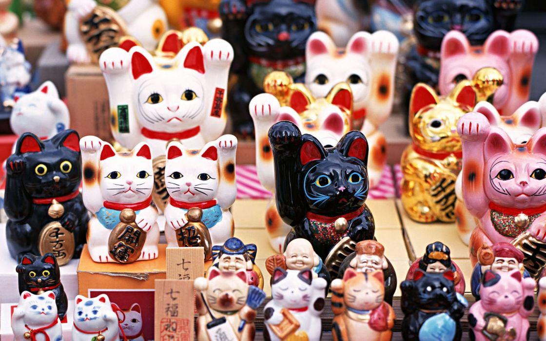 Japan cats wallpaper