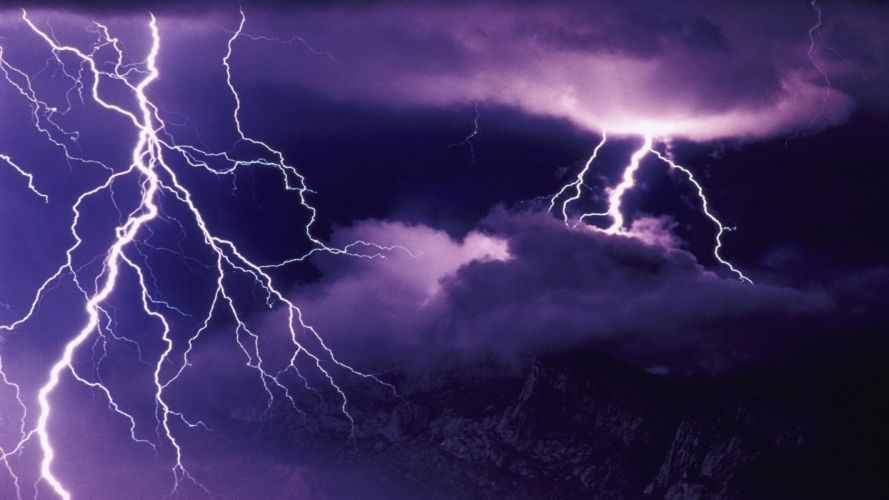 storm lightning wallpaper