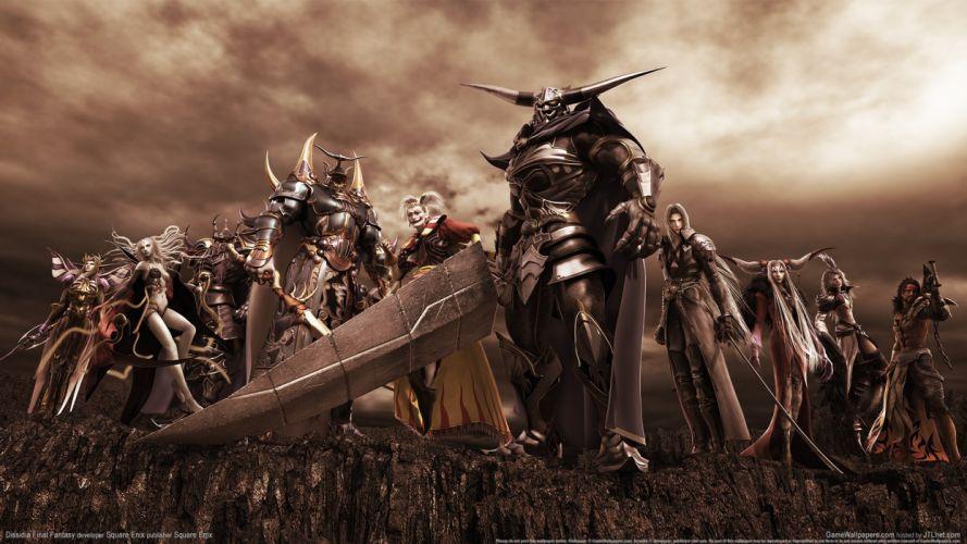 Final Fantasy video games Sephiroth Jecht wallpaper
