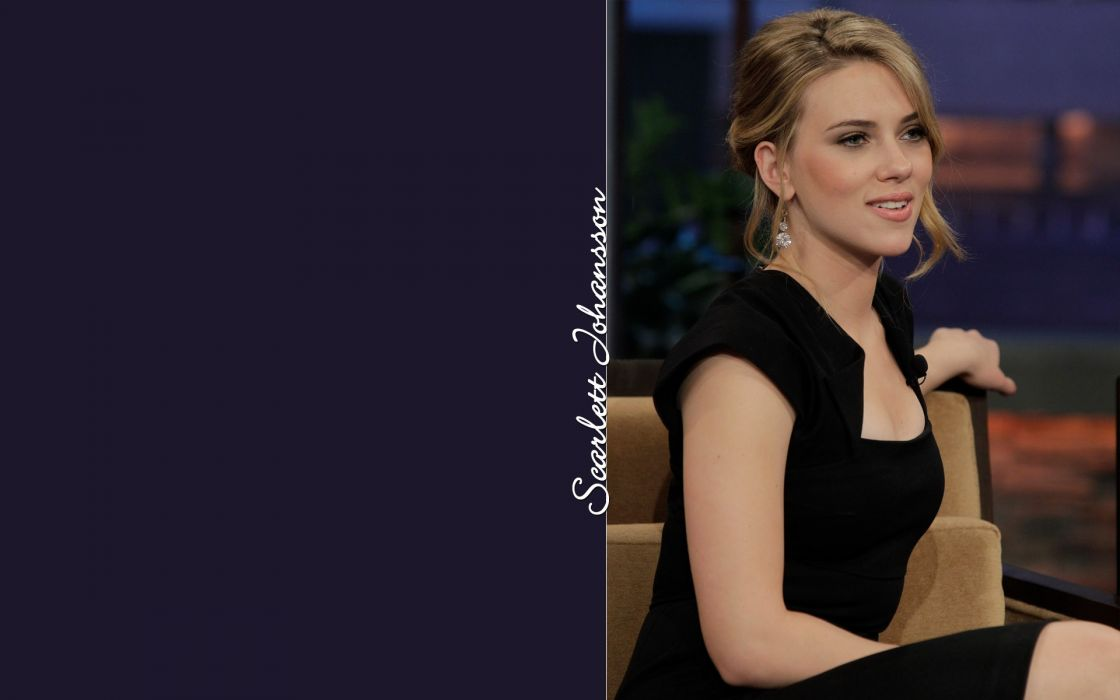 women Scarlett Johansson actress models wallpaper