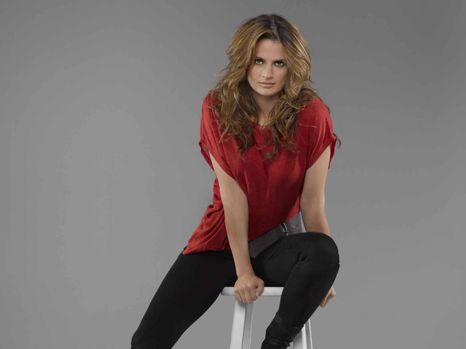 Blondes women actress models Stana Katic Castle TV Series ...