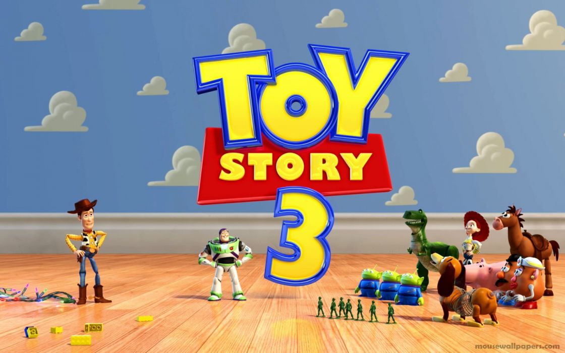 Pixar Toy Story animation wallpaper