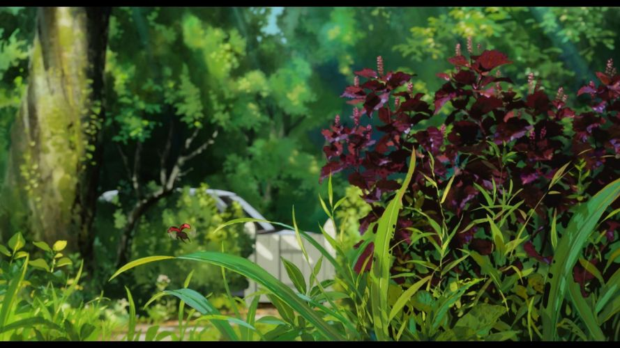 leaves plants Studio Ghibli Karigurashi no Arrietty The Secret World of Arrietty wallpaper