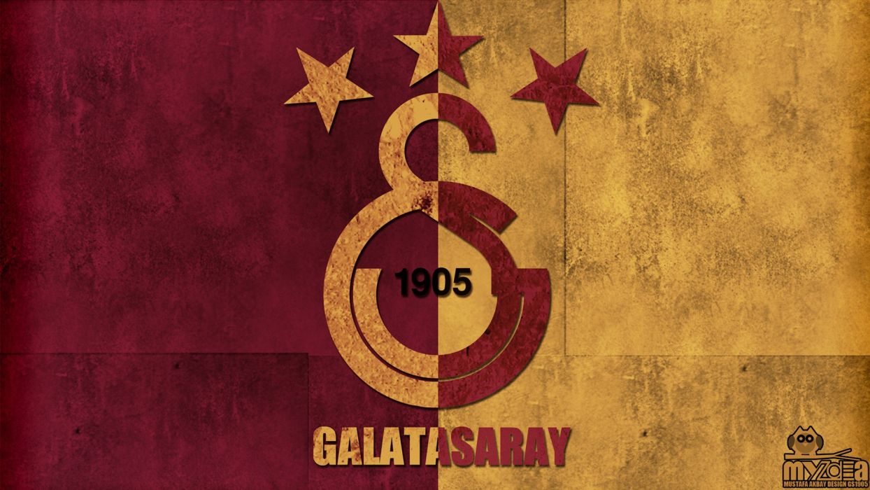 sports soccer Galatasaray SK logos Galata Galatasaray wallpaper