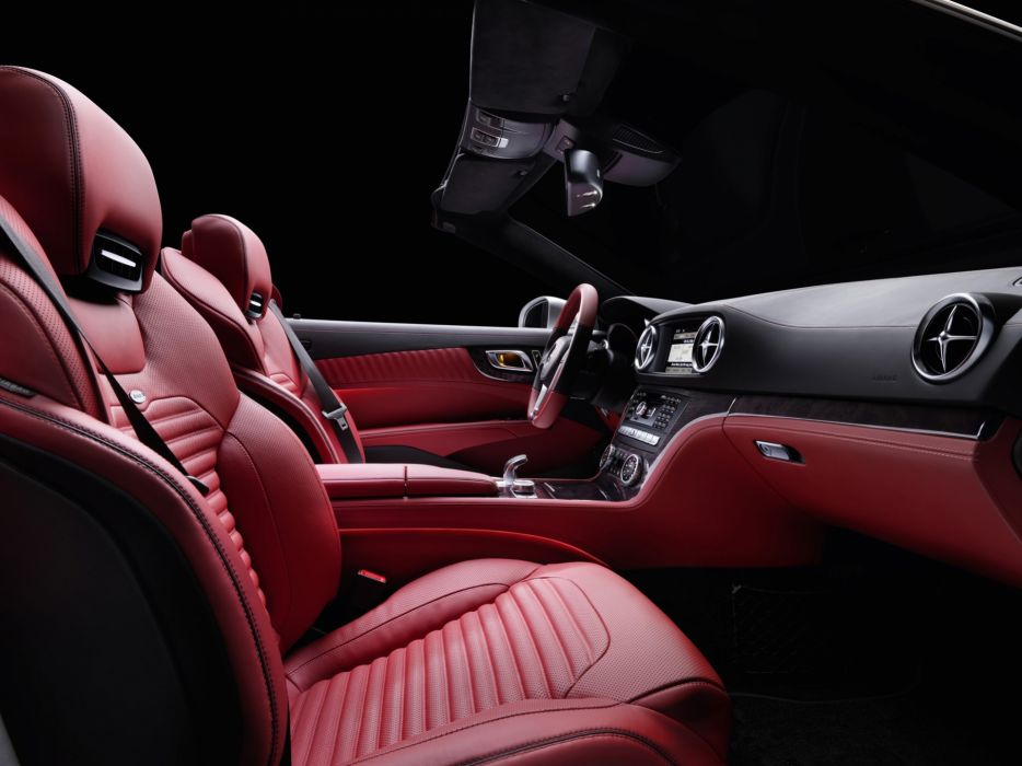 car interiors Mercedes-Benz Mercedes-Benz SL-Class wallpaper