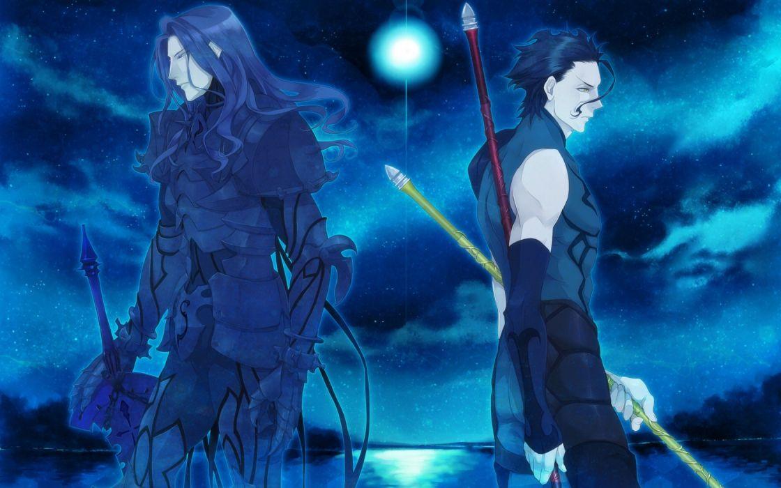 Fate/Stay Night anime Berserker (Fate/Zero) Lancer (Fate/Zero) Fate series wallpaper