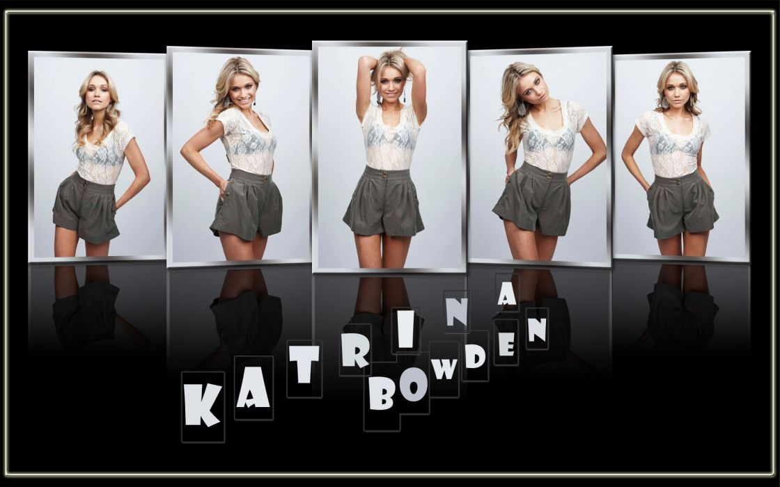 women actress Katrina Bowden wallpaper
