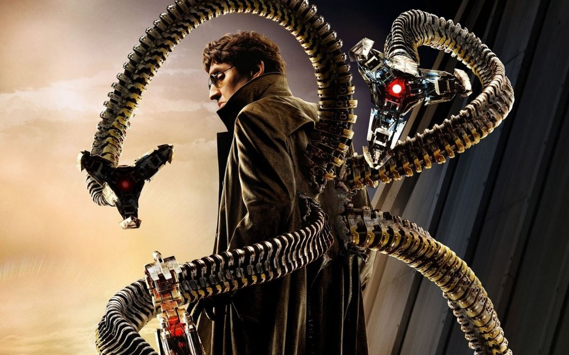 movies Spider-Man Doctor Octopus spiderman 2 wallpaper