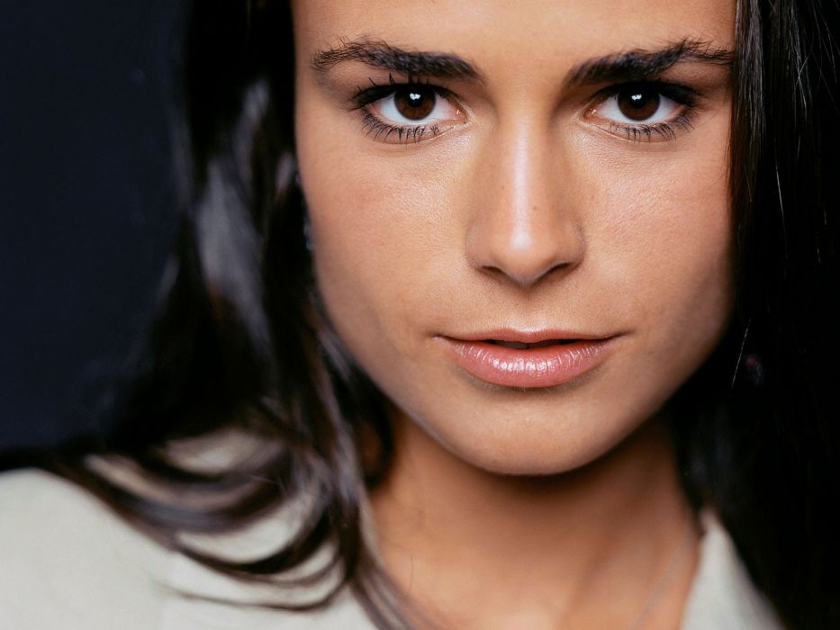 women Jordana Brewster faces wallpaper