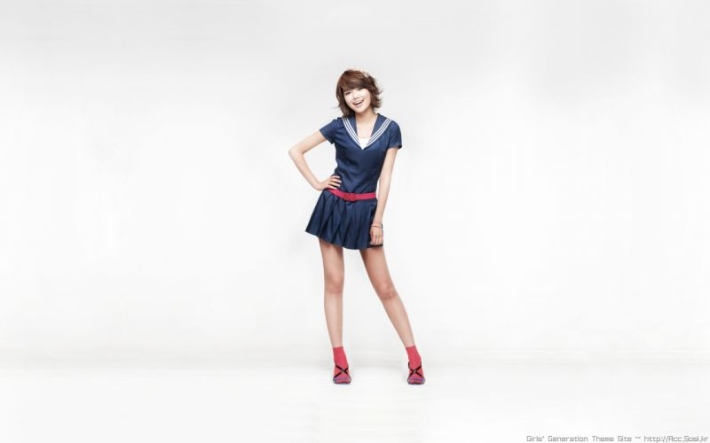 women Girls Generation SNSD celebrity Choi Sooyoung white background wallpaper
