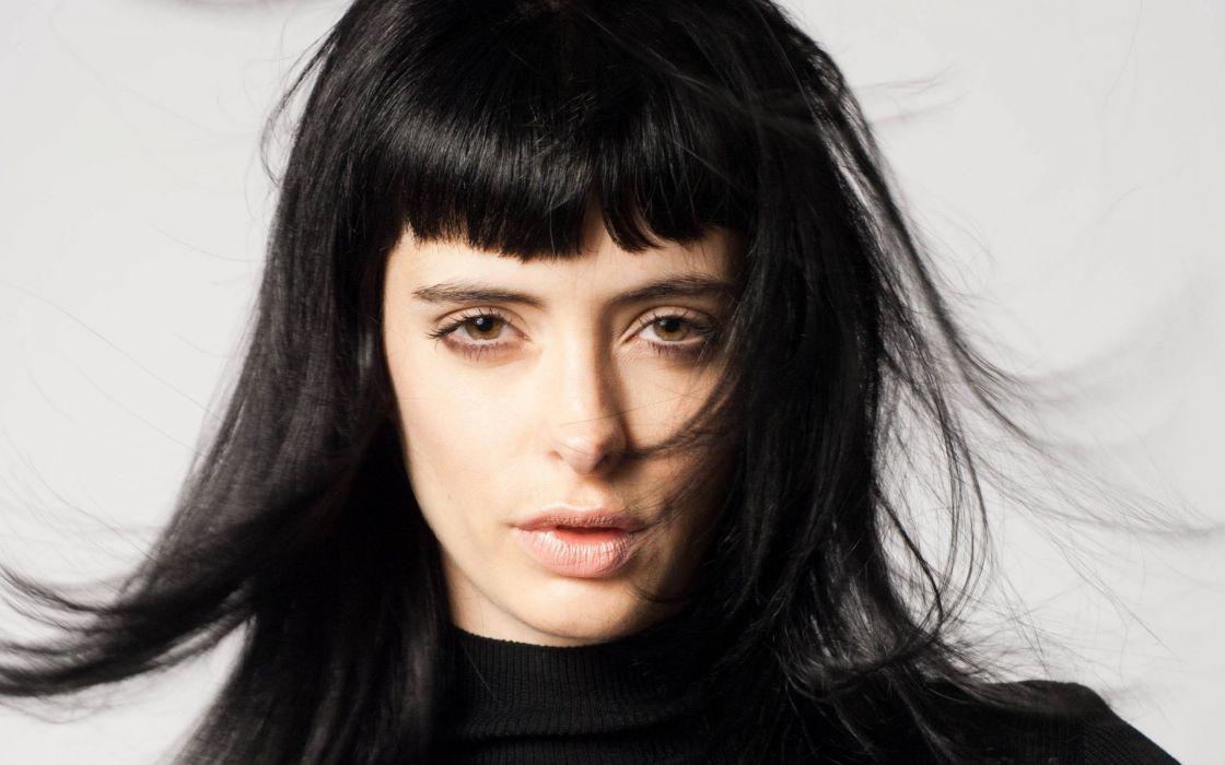 women actress celebrity Krysten Ritter black hair wallpaper