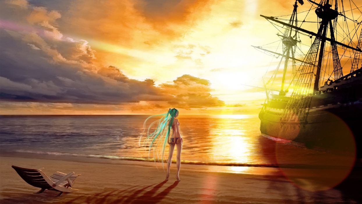 Vocaloid Hatsune Miku Wokada wallpaper