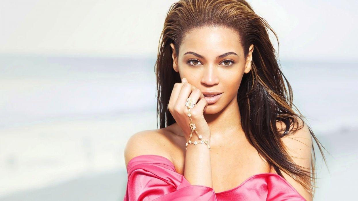brunettes women black people celebrity brown eyes Beyonce Knowles wallpaper