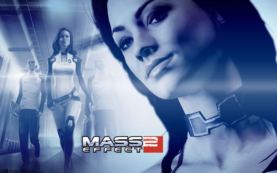 video games Mass Effect Yvonne Strahovski Miranda Lawson BioWare Mass Effect 2 wallpaper