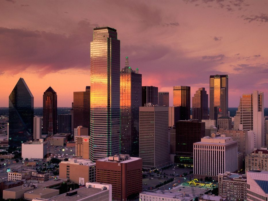 cityscapes architecture buildings Dallas wallpaper
