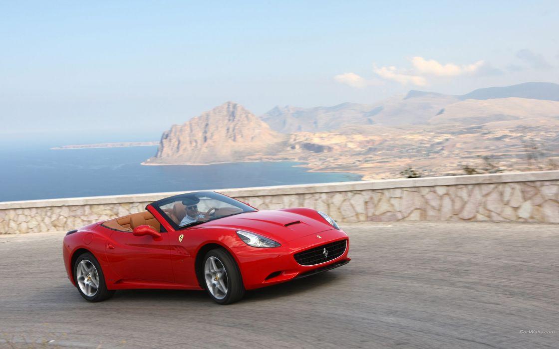cars Ferrari California wallpaper