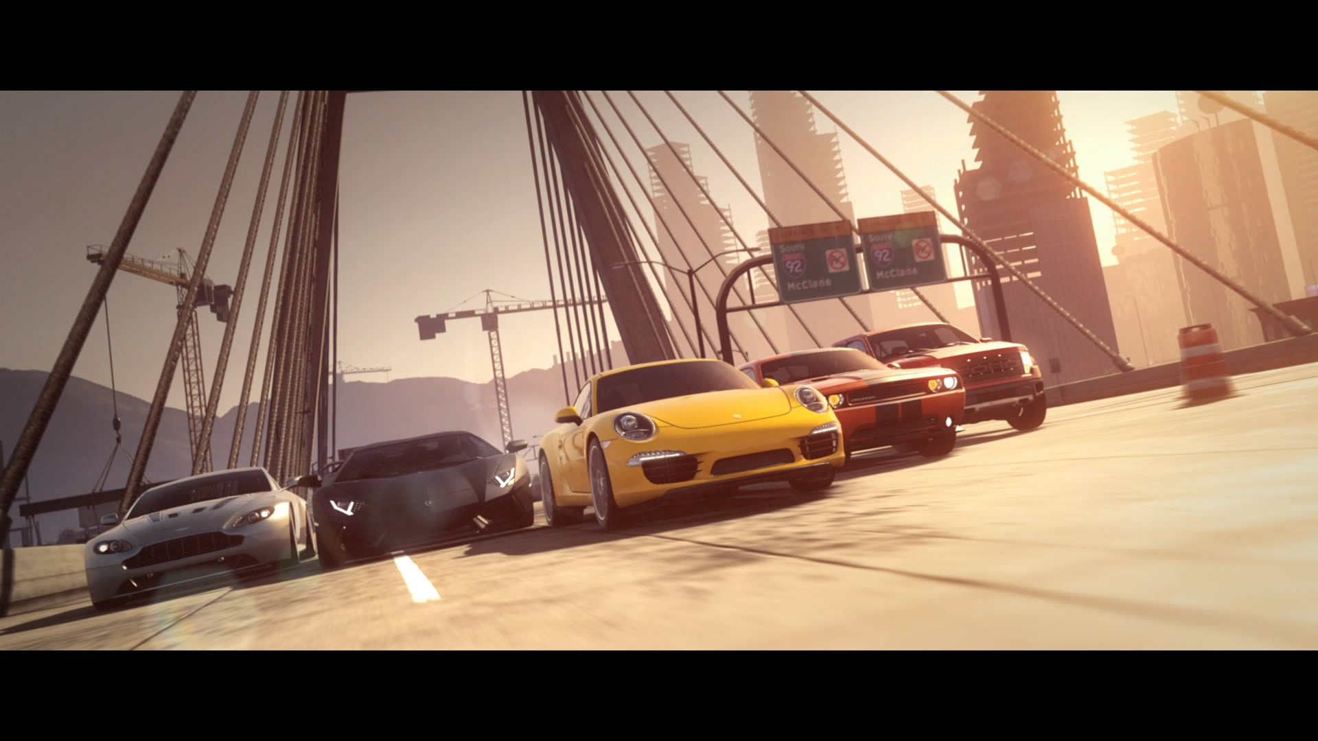 Video Games Cars Need For Speed Aston Martin Vantage Ford F150 Svt