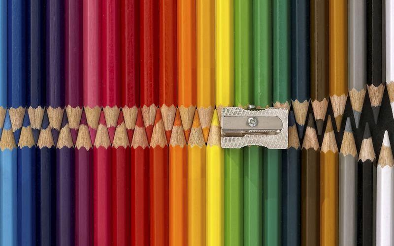 wall colors colored pencils wallpaper