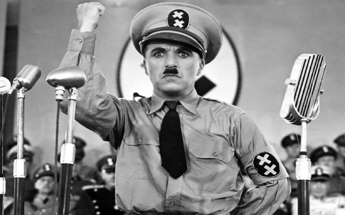 movies Charlie Chaplin The Great Dictator wallpaper