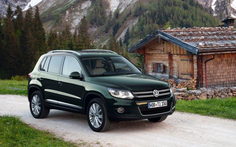 cars vehicles Volkswagen Volkswagen Tiguan wallpaper
