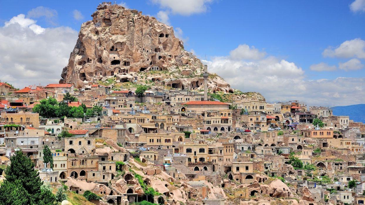 cityscapes Turkey wallpaper
