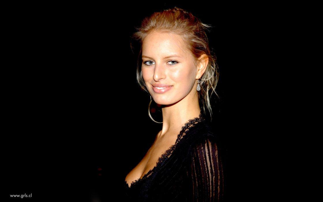 blondes women models Karolina Kurkova wallpaper
