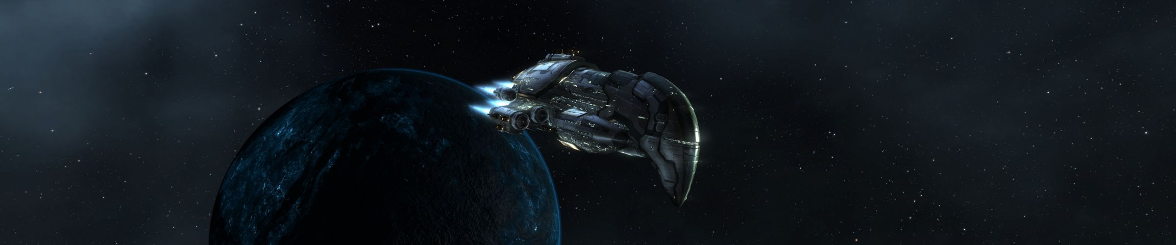 outer space planets spaceships vehicles wallpaper