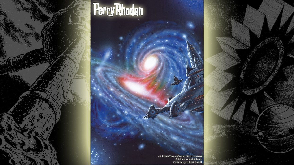 magazines spaceships Perry Rhodan science fiction magazine covers widescreen wallpaper